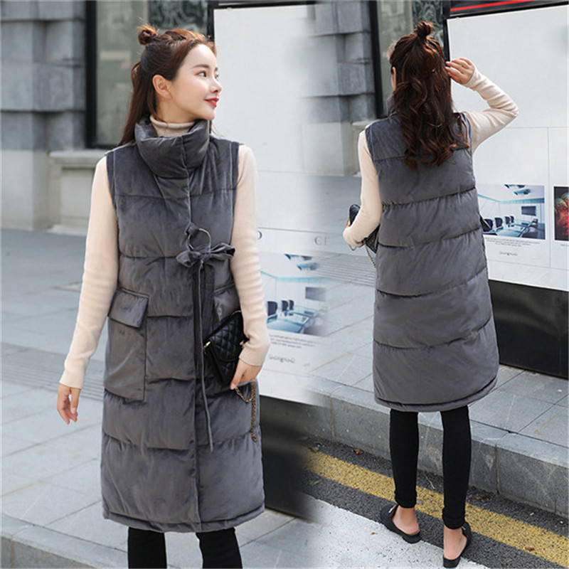 Jackets & Coats 2018 Autumn Winter Plus Velvet Thick Warm Female Vest Long Pu Leather Womens Vest Sleeveless Cardigan Leather Waistcoat For To Have A Unique National Style