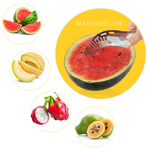 Stainless Steel Watermelon Slicer Melon Cutter cantaloupe Fruit Knife Watermelon Cutting Fruit Tools Kitchen Accessories