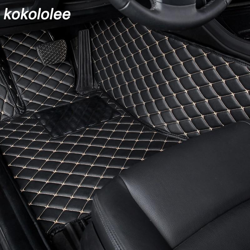 Custom Car Floor Mat For Toyota Land Cruiser 100 200 RAV4 Land Cruiser Prado 120 150 Camry 40 50 Corolla E120 E150 Car Foot Mats