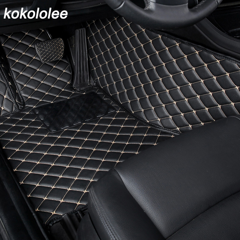 Custom Car floor Mat For <font><b>Toyota</b></font> Land Cruiser 100 200 RAV4 land Cruiser Prado 120 150 Camry 40 50 <font><b>Corolla</b></font> e120 <font><b>e150</b></font> Car Foot Mats image