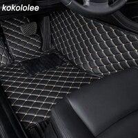 Custom Car Mat For Toyota Land Cruiser 100 200 RAV4 land Cruiser Prado 120 150 Camry 40 50 Corolla e120 e150 Car Floor Mats 1Set