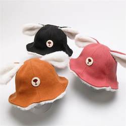 Ребенка шляпа рыбака Медвежонок шапка ухо hatphoto реквизит Косплей игрушка плюшевая игрушка в шапке Рождество Хэллоуин платье для дня