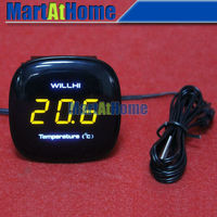 Embedded Electronic Digital LED Thermometer 50 110 Celsius AC110V 250V For Aquarium Refrigerators Aquaculture Industry