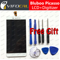 Bluboo Пикассо ЖК-Дисплей + Сенсорный Экран 100% Новый 5.0 inch HD Digitizer Замена Тяга Для Bluboo Пикассо 4 Г мобильный Телефон