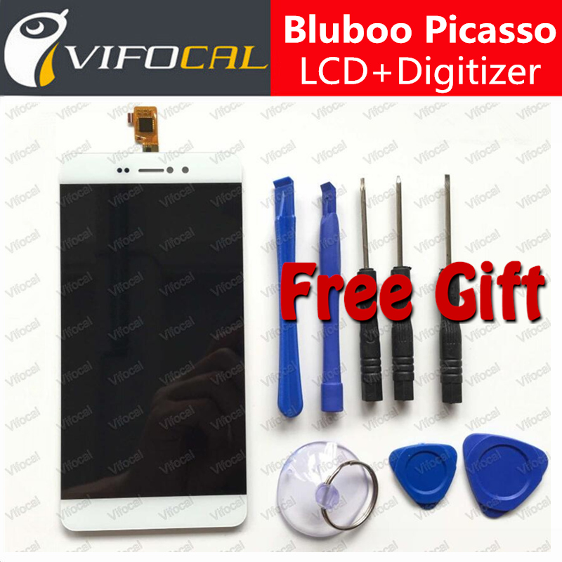 Bluboo Picasso LCD Display + Touch Screen 100% New 5.0inch HD Digitizer Assembly Replacement For Bluboo Picasso 4G Mobile Phone touch screen lcd display for bluboo maya max 6 0 inch touch panel digitizer assembly replacement accessories repair tools