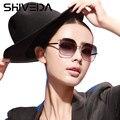 SHIVEDA New Sunglasses Women Oval Style Fashion PC Aluminum Sunglasses Driving Glasses Eyewear Sun Glasses Girls Oculos F2023NP