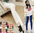 Women Leggings Modal thin High elasticity Fitness Leggings Casual Pants Slim Outwear Girl Leggings LY012