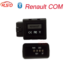 2017 New Renault-COM Bluetooth Diagnostic Tool for Renault COM Diagnostic & Programming Tool Replacement of Can Clip for Renault