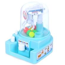 Дети Мини кукла коготь машина мяч Catcher слот игра конфеты машина захватчик Забавный Рабочий стол интерактивное руководство детские игрушки