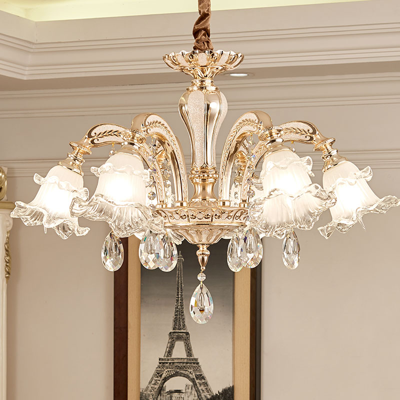 Contemporary Dining Room Chandeliers: Modern Crystal Chandelier Lighting Dining Room LED