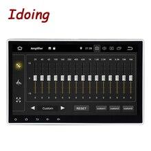 """Idoing 1Din 10,"""" PX5 4G+ 64G Android 9,0 8 ядерный для универсального автомобиля gps DSP радио плеер ips экран навигация Мультимедиа Bluetooth"""