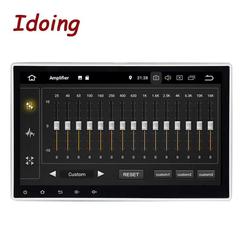 Idoing 1Din 10.2PX5 4G+32G Android 9.0 8Core For Universal Car GPS DSP Radio Player IPS screen Navigation Multimedia Bluetooth