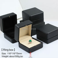 New High Quality Unique Fashion Jewelry Gift Box Wooden Ring Box Free Shipping China Post Parcel