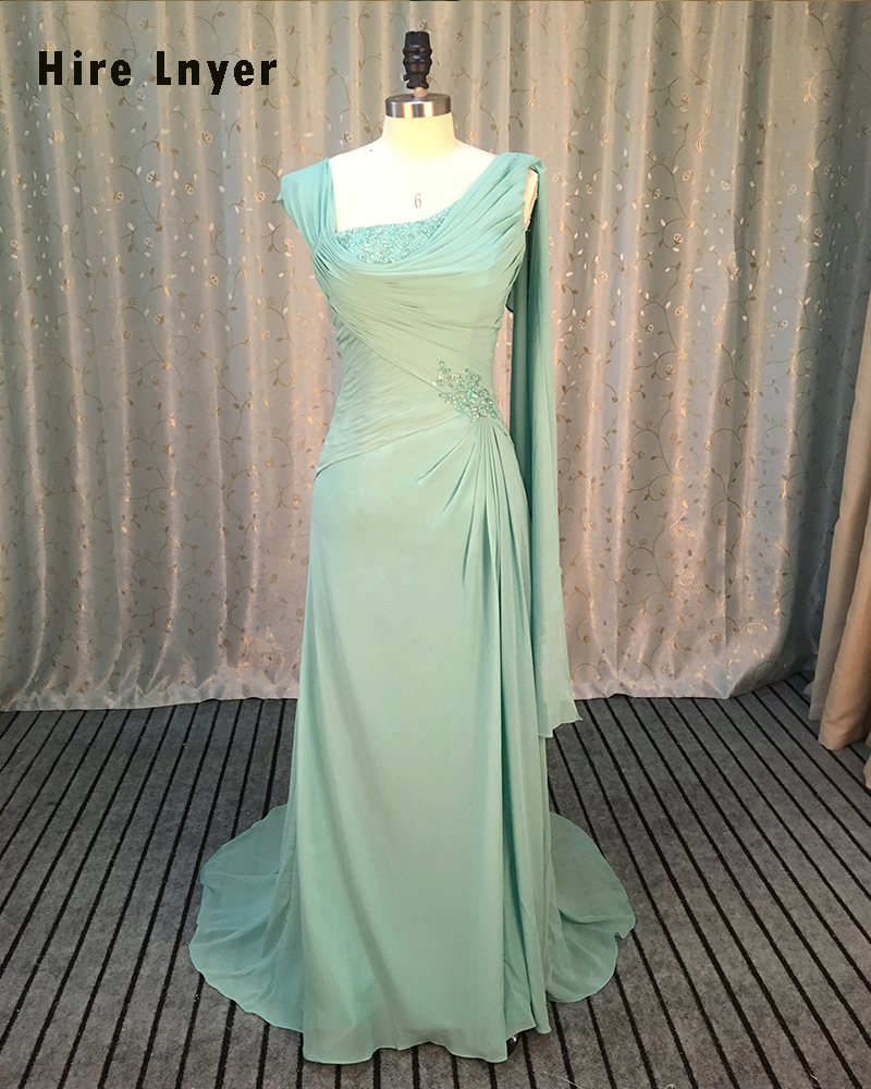 Najowpjg Custom Made Chiffon Formal Gown Long Vestido Festa Beading Sequin Pleat Light Green Evening Dress 2019 Aliexpress Login
