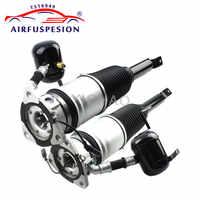 2 unids/par para Audi A8 D3 4E Quattro suspensión trasera de aire amortiguador de resorte de puntal 4E0616002N 4E0616002E 2004- 2010