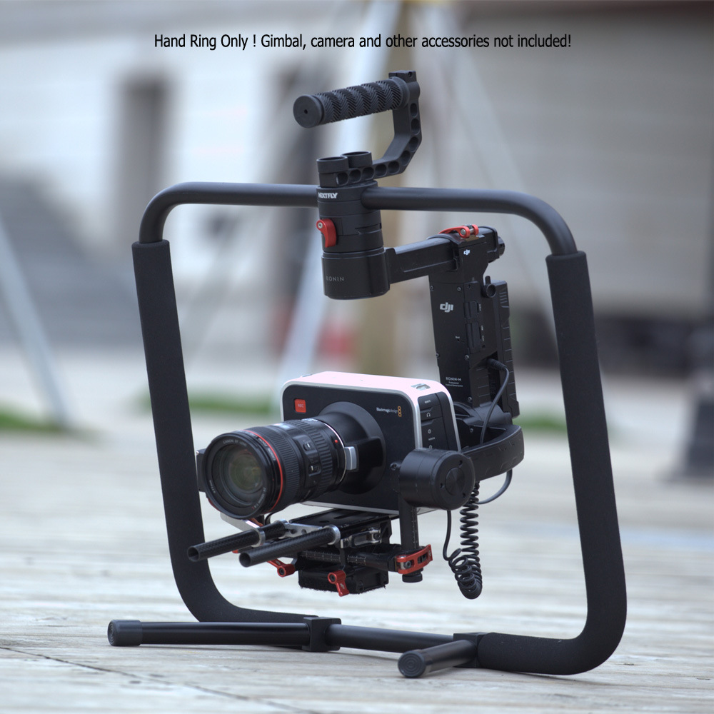 Iflight DJI Ronin 3-Axis Gimbal Photography Stabilizer Handheld Grip Handle Ring with Support Stand for DJI RONIN M RONIN MX ronin mx portable aluminum box dji ronin mx protective case high quality impact resistant protective case custom eva lining
