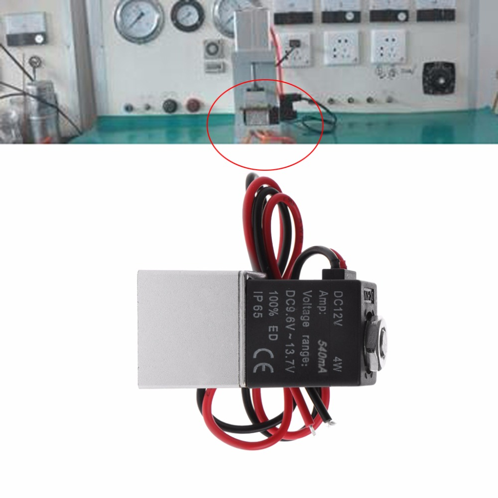 Normally Closed Solenoid Valve 12v Dc 1 8 W Wire For Water Air Gas Wiring X 1a50303