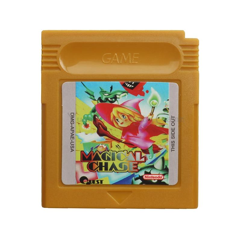 Yuan Dian Digital Game Store Store Nintendo GBC Video Game Cartridge Console Card  Magical Chase English Language Edition
