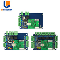 TCP/IP Wiegand Access Control Board Door Entry Access Control panel For 1, 2, 4 Doors