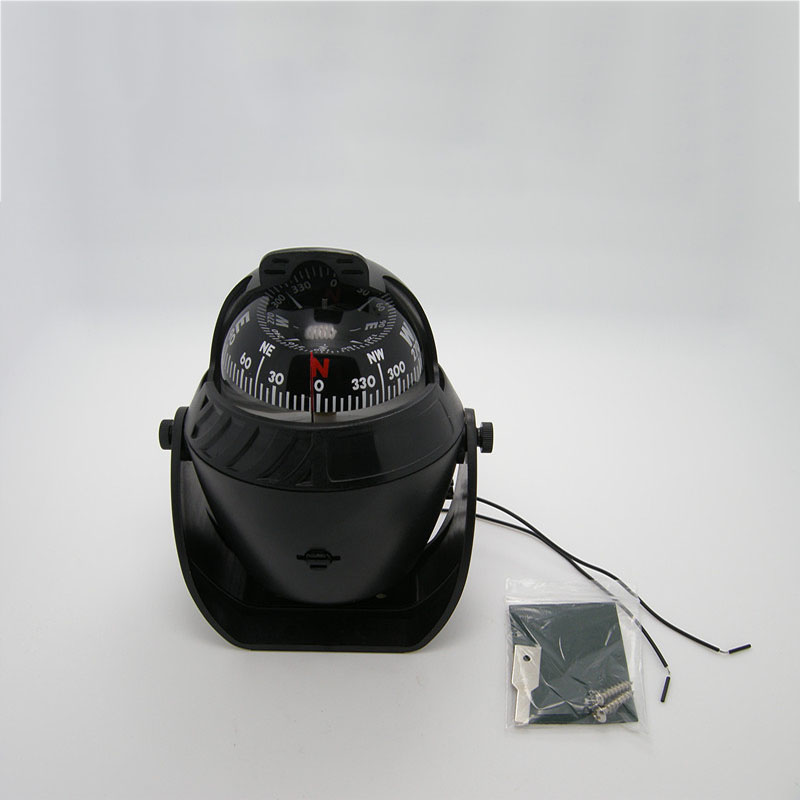 Image 2 - LED Night Light Sailing Marine Compass for 12V Marine Boat Yacht Ship-in Marine Hardware from Automobiles & Motorcycles