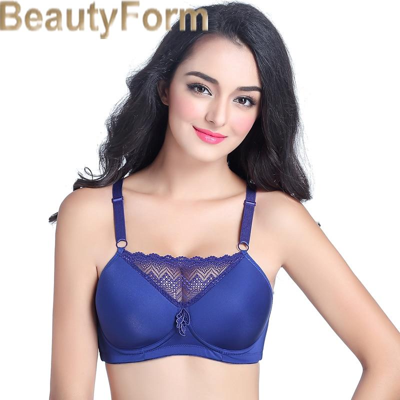 8678 Mastectomy Bra Comfort Pocket Bra for Silicone Breast Forms Artificial Breast Cover Brassiere Underwear