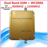 Repetidor GSM 900MHz +3G UMTS WCDMA 2100 MHz Repeater GSM 3G Dual Band Mobile Phone Signal Repater GSM Celular Signal Booster