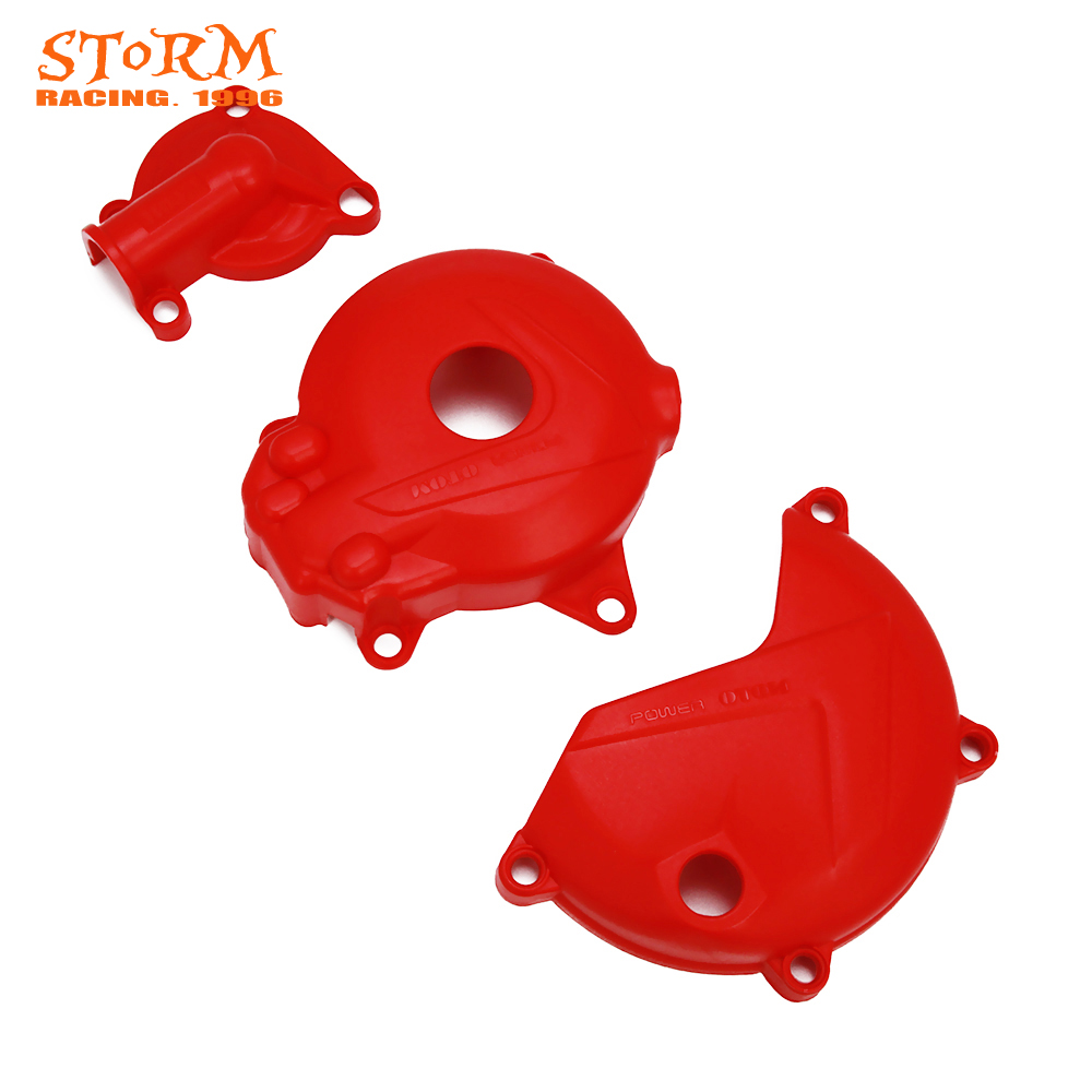Motorcycle Engine Magnetic Motor Water Pump Clutch Cover Protect For NC250 250cc KAYO T6 K6 BSE