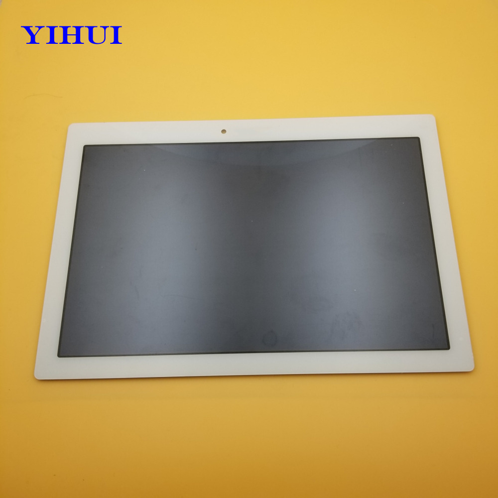 YIHUI 10.1 LCD Display With Touch Screen For Lenovo Tab 2 A10-70F A10-70 A10-70L Tablet Full Sensor Digitizer Assembly White hsd103ipw1 a10 hsd103ipw1 lcd displays screen