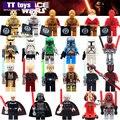 Única Venda de Star Wars Mini Dolls Yoda Sith Darth Vader Lightsaber Darth Maul PG633 com Arma Bloco de Construção de Brinquedos de Presente