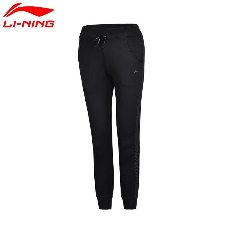 Li-Ning Для женщин Штаны в сухом дышащий комфорт внутри спортивные Мотобрюки akym018 wky094 ...