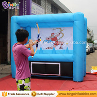 Inflatable Toy Archery, Interactive Inflatable Archery Games, Archery Inflatable Hoverball Shooting Sports Game for Team outdoor