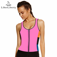 Hot Sport Shaper Neoprene Slimming Underwear Women Cincher Zipper Slimming Suits Modeling Strap Vest Shaper Waist