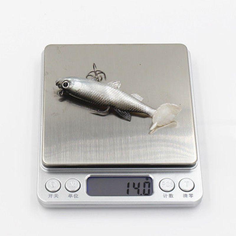 Купить с кэшбэком 5Pcs Hot Sale !! Leurre Souple Soft Lure Carp Fishing tackle Fishing wobblers Artificial Bait Pike Lure 4 colors 14G 8.6CM