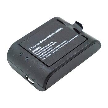 Digital baterías acción cargador de batería para cámara 1050mAh capacidad para H8 H8R H9 PLUS SJCAM M10 SJ7000 SJ8000 SJ9000