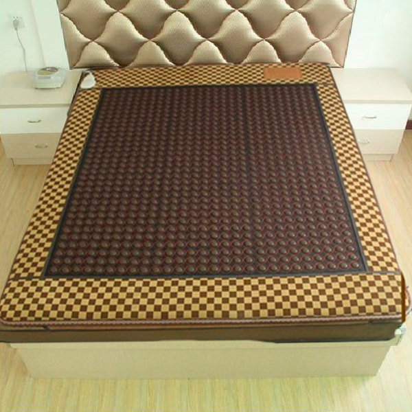 2016 Best Selling Thermal Therapy Heating Tourmaline Mattress Massager Jade Mattress 1.2*1.9M Free Sihpping hot sale mattress electric heating jade massager mattress 2016 best selling tourmaline jade mattress for sale