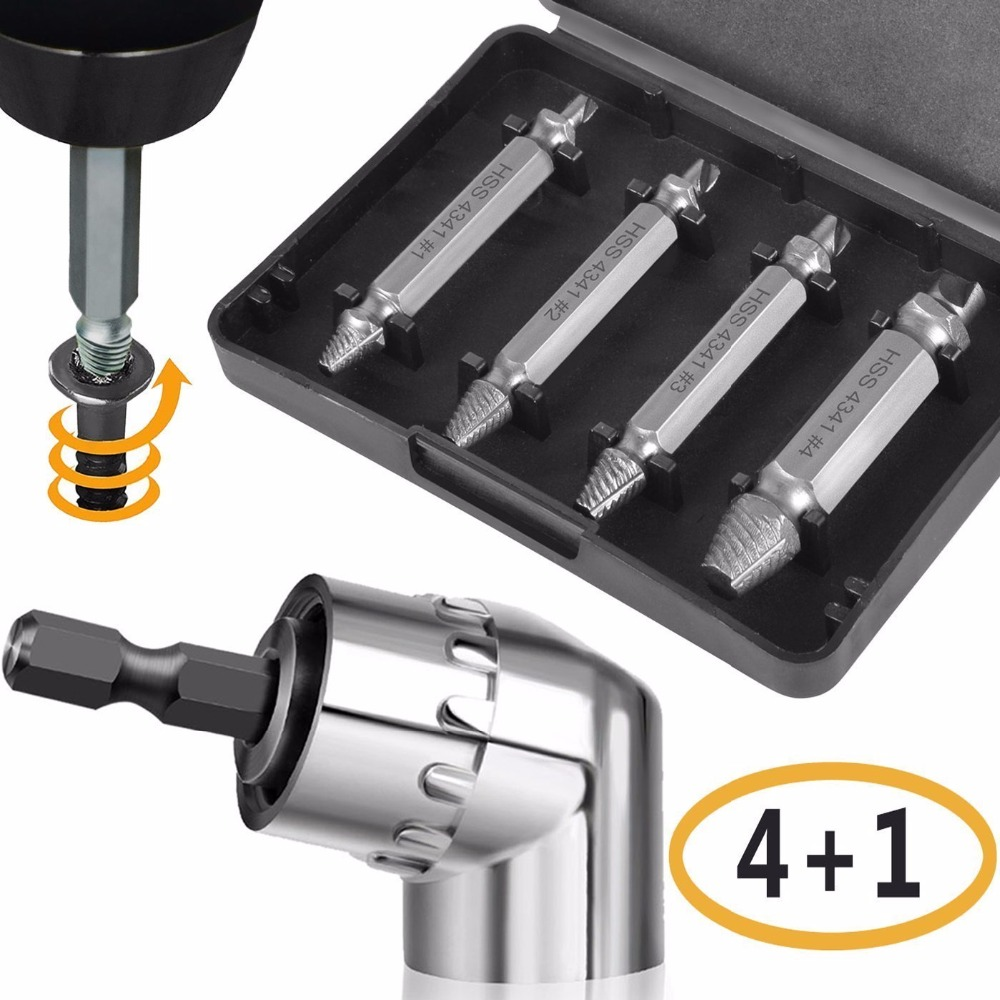 Easily Remove Stripped or Damaged Screws/Kit of 4 Stripped Screw Removers - for Removing Stripped Screws nutrition stripped