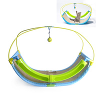 Cat Hammock Cradle Luxury 2 In 1 Cat Toy Pet Exercise Cradle Cat Bed Sofa With