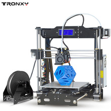 Tronxy Upgraded Quality High Precision Reprap 3D printer Prusa i3 DIY kit P802E bowden extruder Auto
