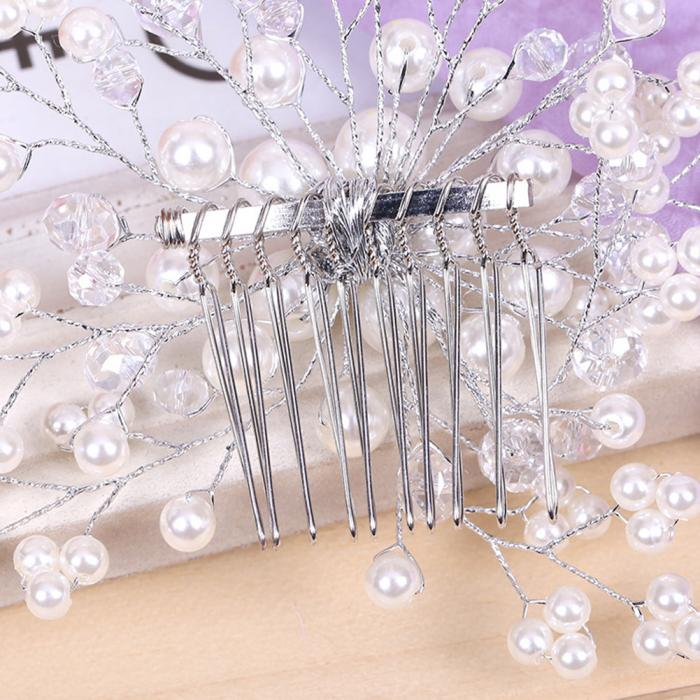 HTB1v.PIJpXXXXakXFXXq6xXFXXXe Exquisite Bridal Wedding Faux Pearl Hair Comb Accessory
