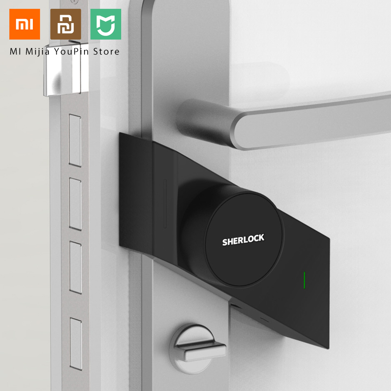 Xiaomi Upgrade Version Sherlock Smart Stick Lock S Safety Protection Bluetooth Wireless Close Lock App Smart