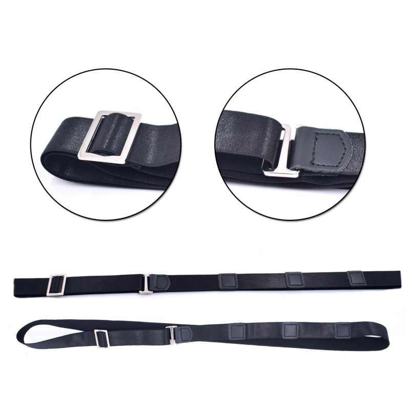ปรับ Super สำหรับอย่างเป็นทางการ Professional เครื่องแต่งกายเสื้อสเตย์สำหรับผู้ชายสบายเสื้อ Hold เสื้อ-Stay ล็อคเข็มขัด