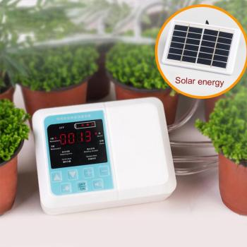 Garden Solar Energy Automatic Watering Device Drip Irrigation Water Pump Timer System Intelligent Water Timer Garden Irrigation