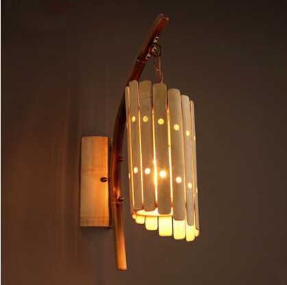 achetez en gros applique murale en bambou en ligne des grossistes applique murale en bambou. Black Bedroom Furniture Sets. Home Design Ideas