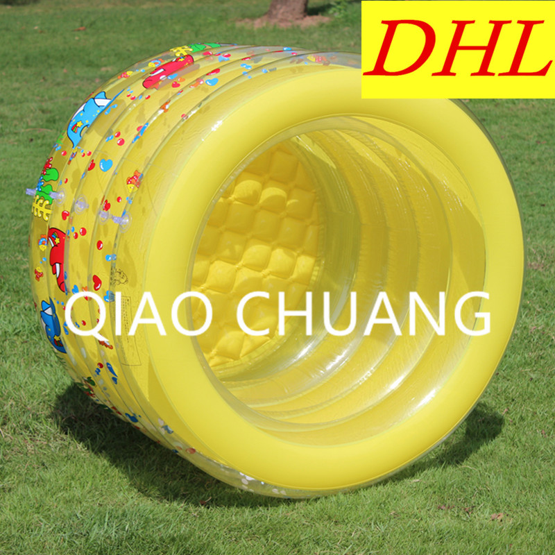 Baby Paddling Pools Inflatable Bath Tub PVC Thicken Wear-resistan Cartoon Printing Swimming Pool G982