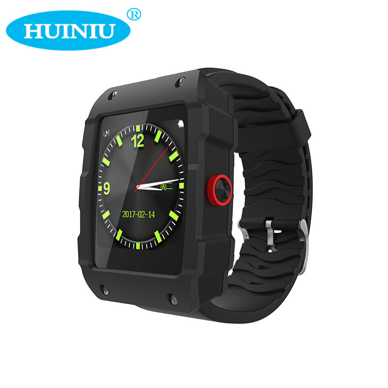 HUINIU V18 GPS Smartwatch Fitness Sleep Tracker Monitor Message Reminder Answer Call Pedometer Smart Watch for IOS and Android leegoal bluetooth smart watch heart rate monitor reminder passometer sleep fitness tracker wrist smartwatch for ios android
