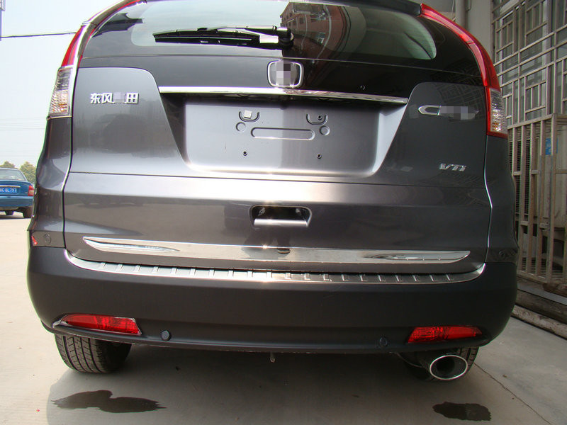 ABS Chrome rear door tailgate handle cover trim For Honda CRV CR-V 2012 2013 2014 2015 accessories fit for honda crv cr v 2012 2013 2014 2015 chrome side door body molding trim cover line garnish protector