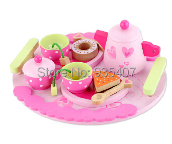 New customer portfolio designed to shoot classic afternoon tea every family girl princess wooden toy tea gift tea specaily premium new tea fen quality gift box gift