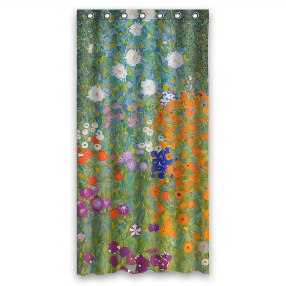 Polyester Shower Curtains Of Gustav Klimt Art Painting For Couples Wife Relatives Mother image