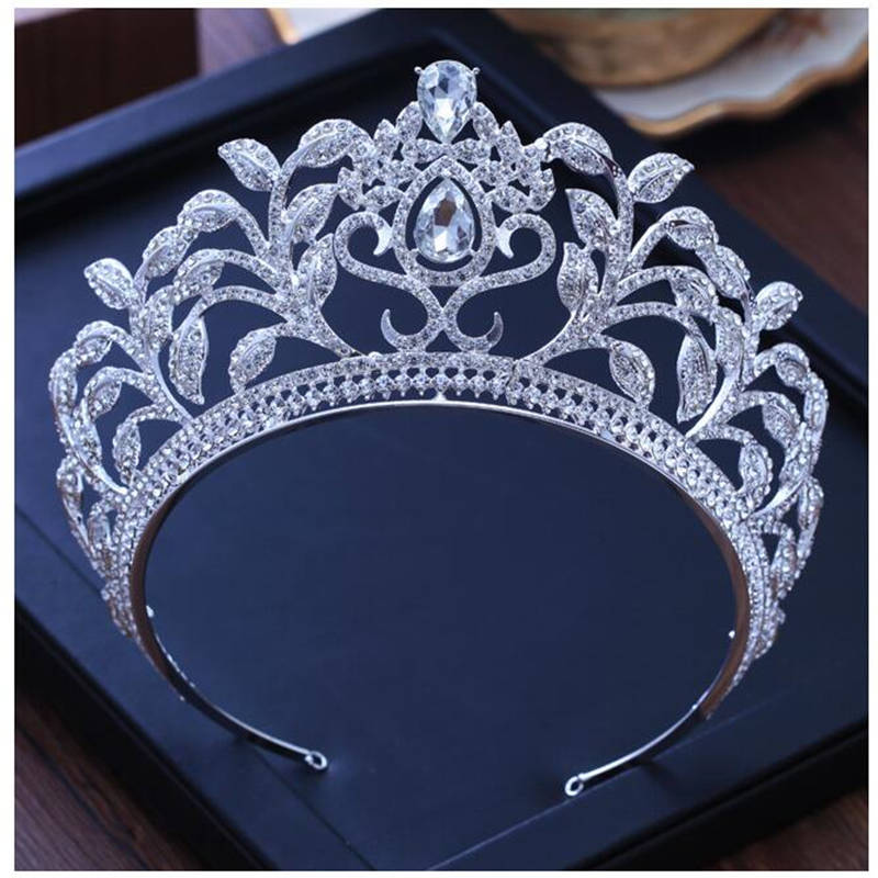Jewelry Wedding Crown Bride Tiara Pageant Crowns for Women Bridal Tiaras Royal Prom headband Zircon Crystal Hair accessories недорого
