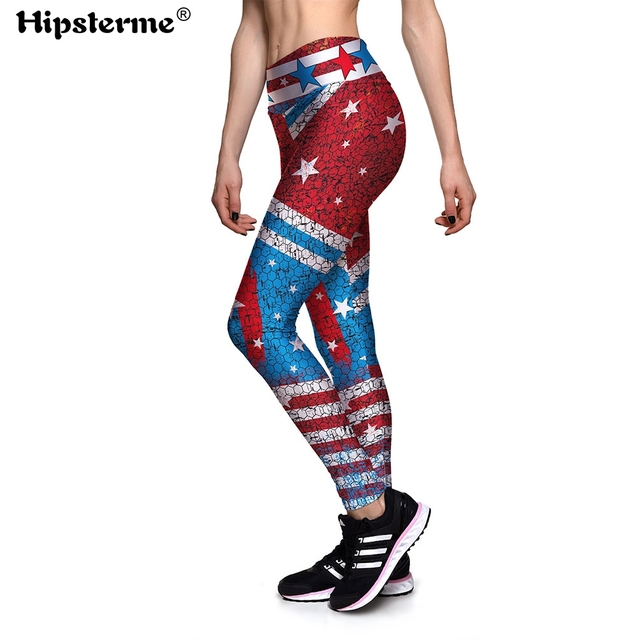 49a27cec22213 Hipsterme holographic 3d Print Ladies High Waist Fitness Leggings Gothic  Women Sweatpants Plus Size Push Up Work out